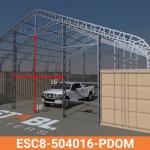 ESC8-504016-PDOM Frame