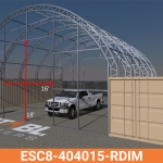 ESC8-404015-RDIM Frame