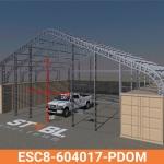 ESC8-604017-PDOM Frame