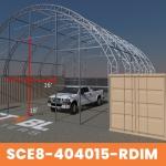 SCE8-404015-RDIM-Frame