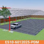 ES-60W25H – Grass – Frame – Front